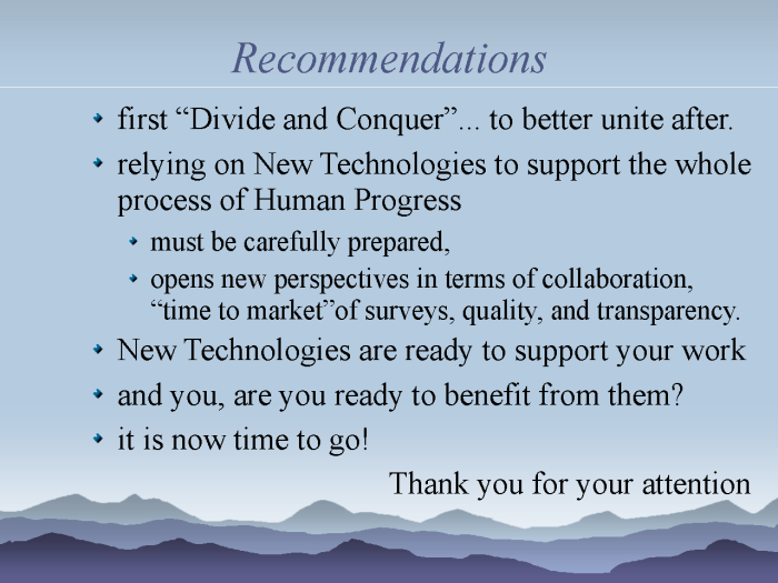 eResearch: Strategies to model and monitor human progress - page 22: our recommendations for new HDI challenges